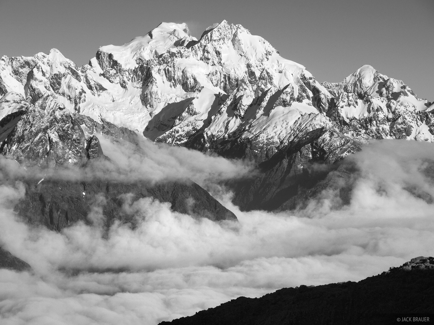 Black And White Photography Mountains