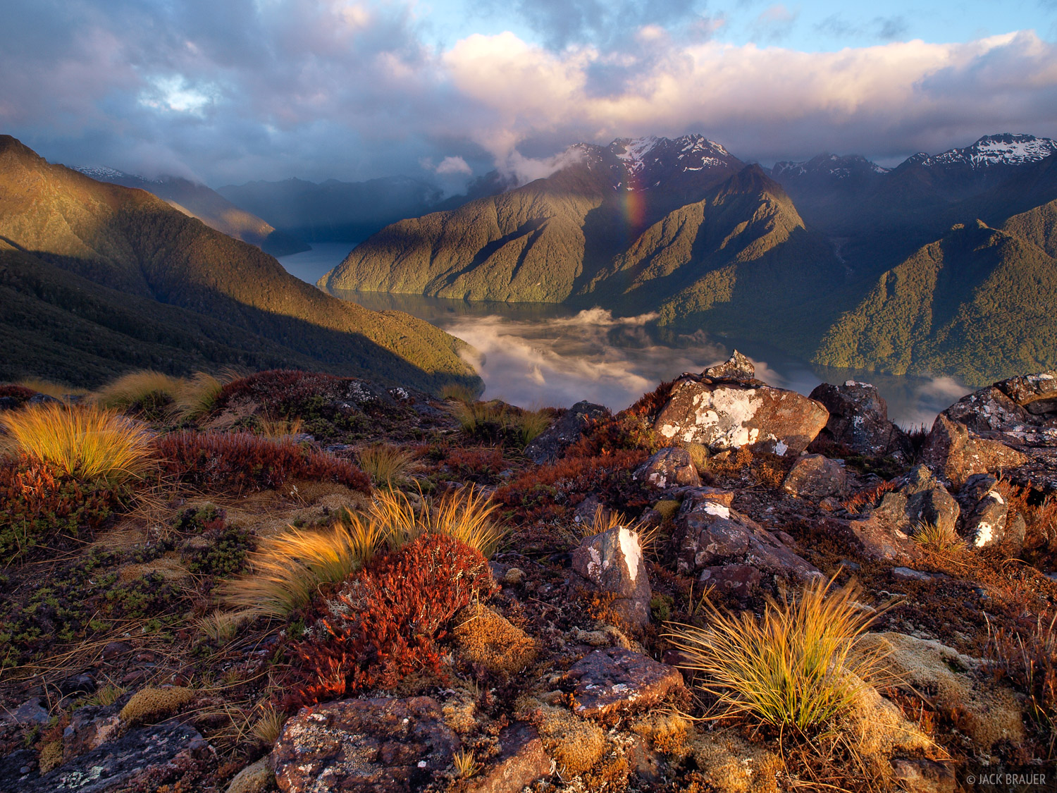 Kepler Track, Lake Te Anau, New Zealand, photo