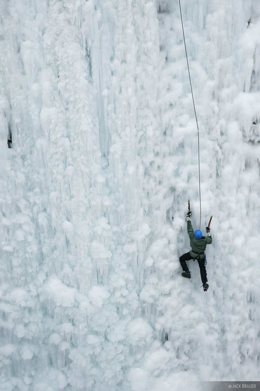 Ouray, Ice climbing, Colorado, photo