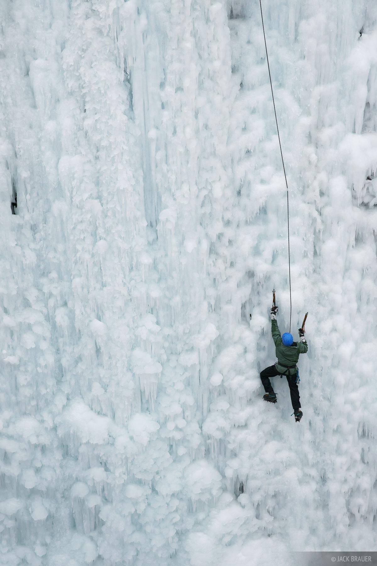 Ouray, Ice climbing, Colorado, photo