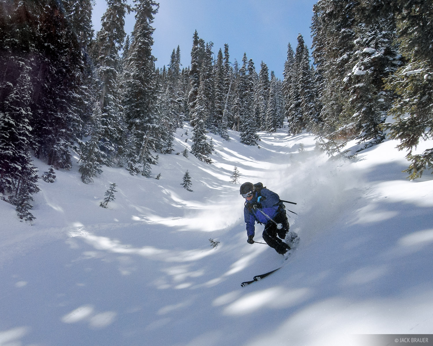 Skiing, Colorado, San Juans, photo
