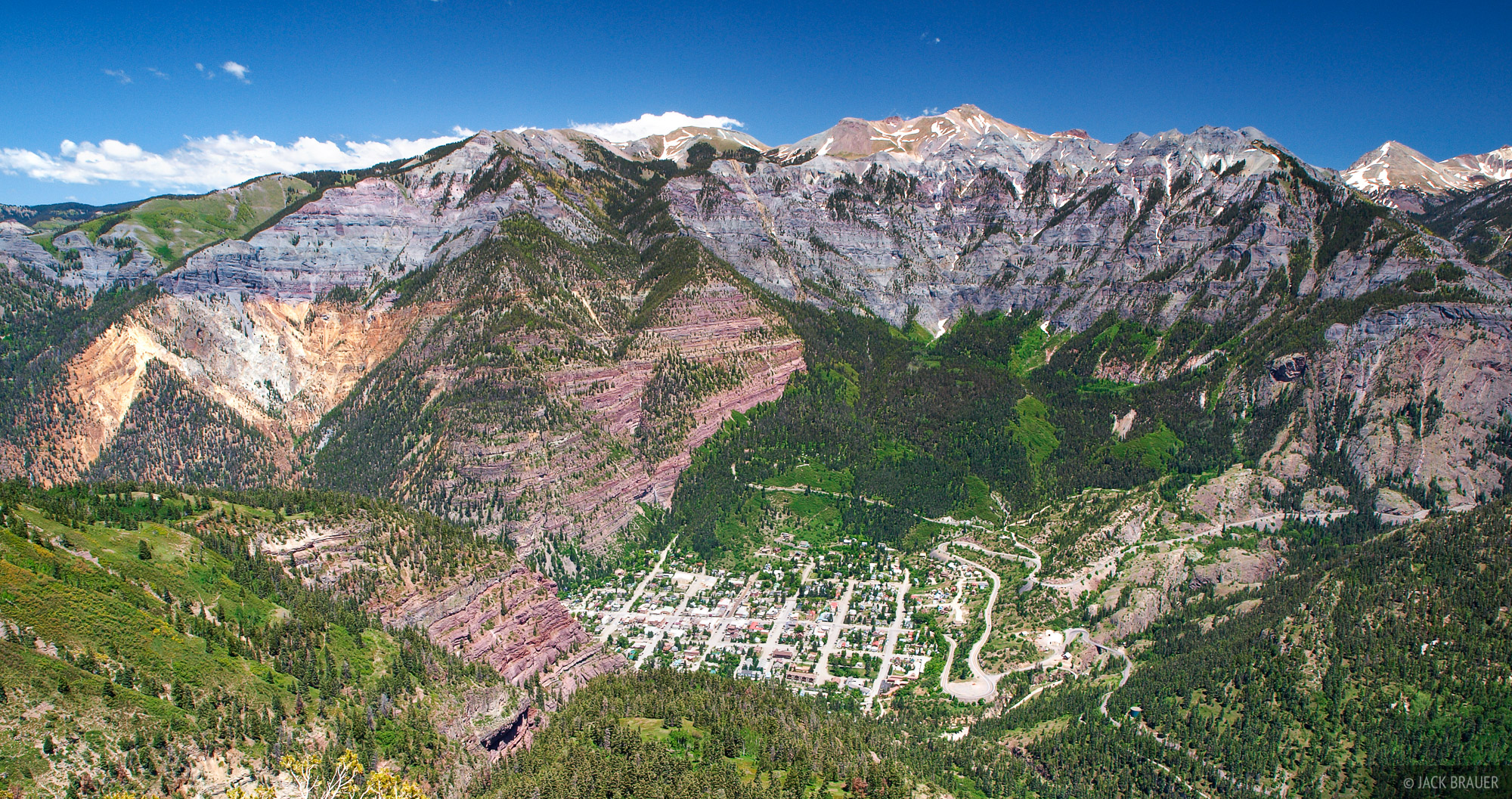 Ouray, Colorado, San Juan Mountains, photo