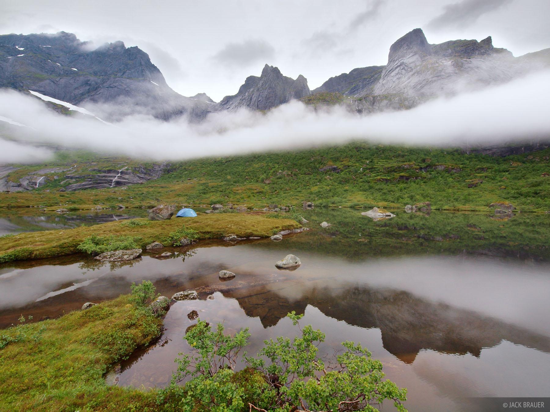 Flakstad,Lofoten Islands,Norway, tent, photo