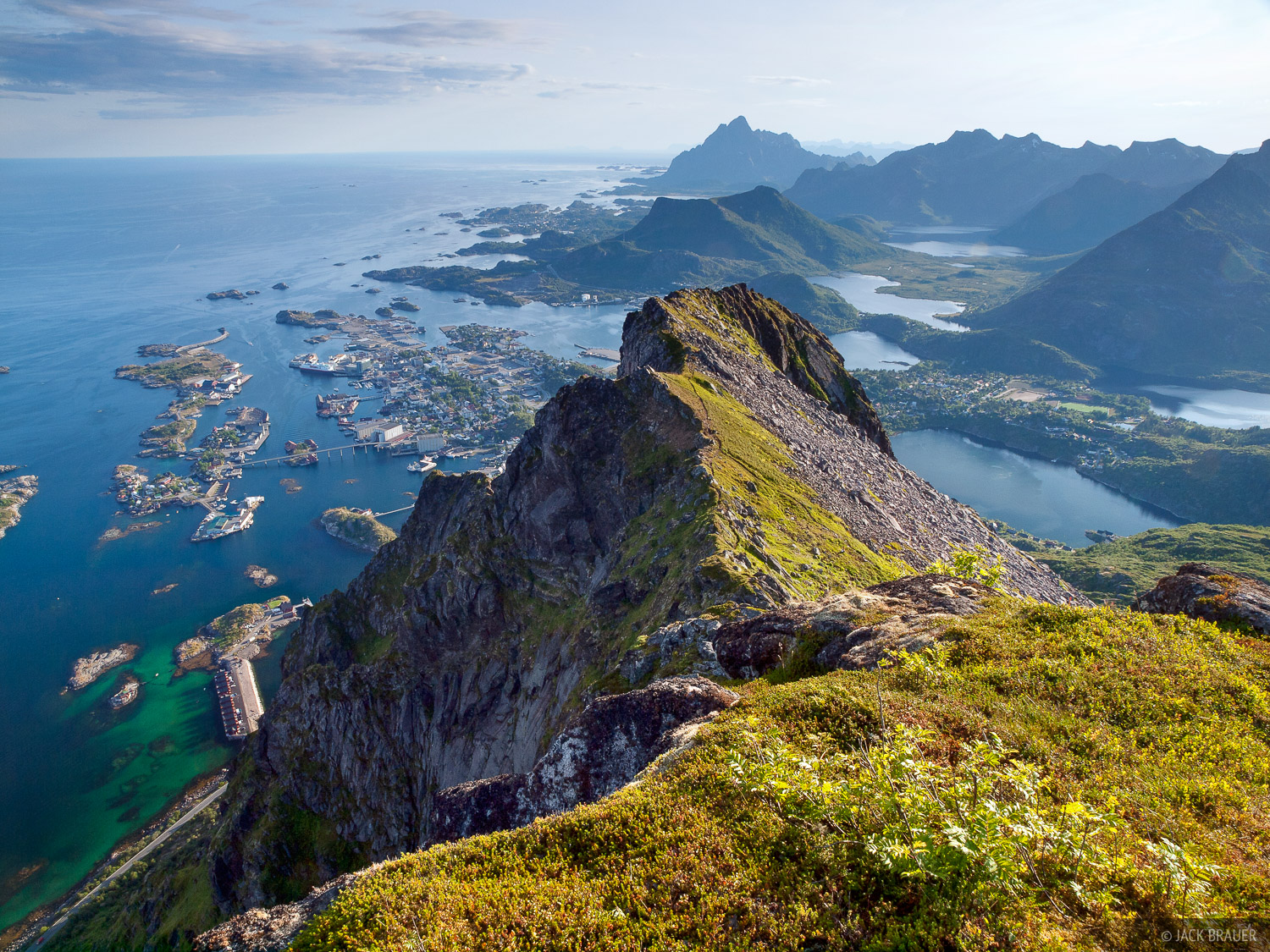 Svolvaer Norway  city photo : Above Svolvær : Lofoten, Norway : Mountain Photography by Jack Brauer