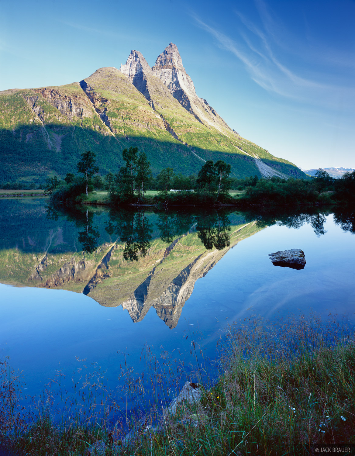 Otertind, Norway, reflection, photo
