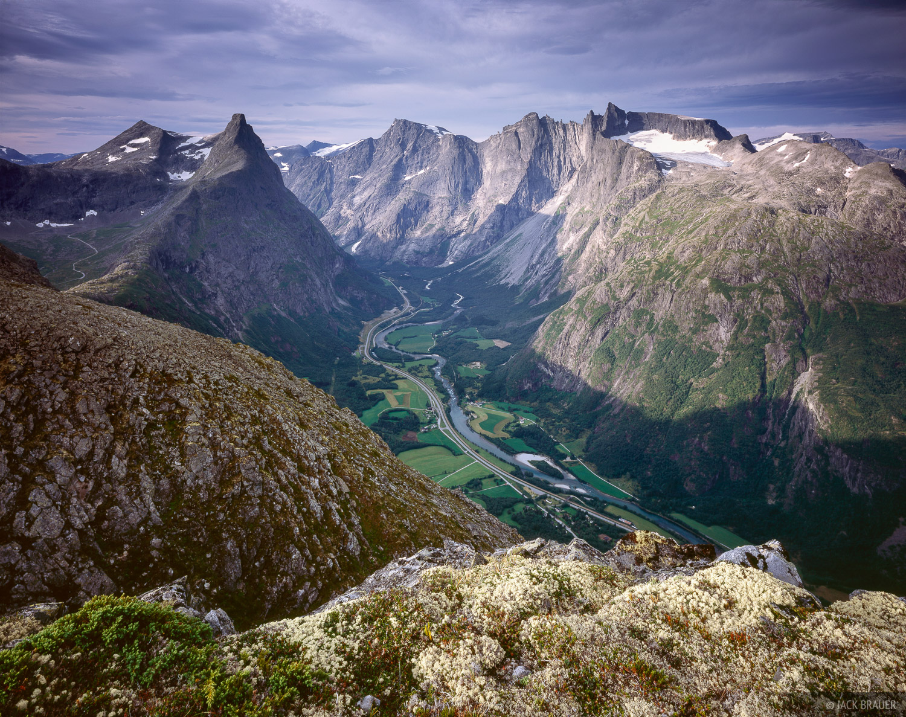 Romsdalshornet, Trolltindan, Trollveggen, Romsdalen, Norway, photo