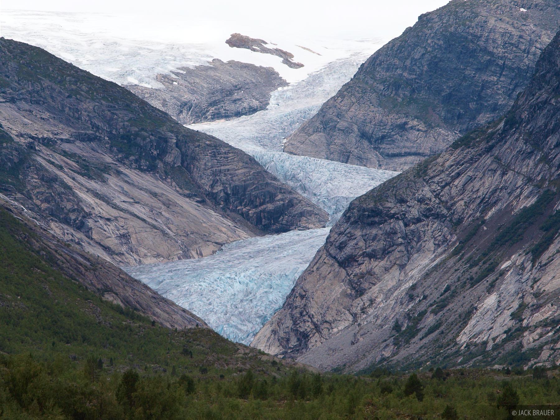 Nigardsbreen, glacier, Jostedalsbreen, Norway, photo