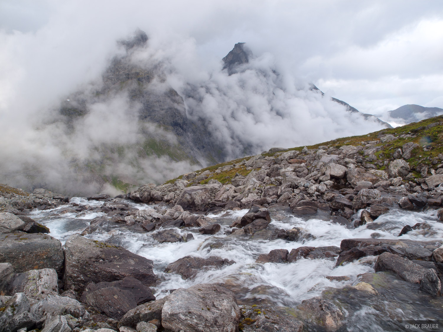 Romsdal,Norway, clouds, photo