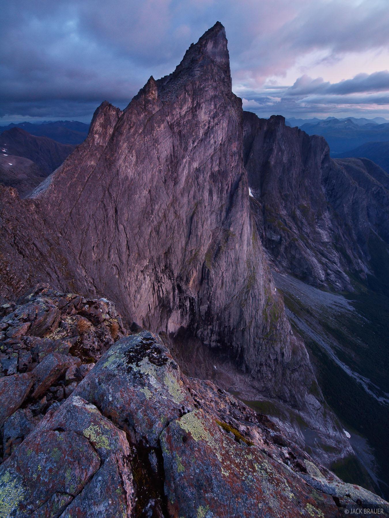 Trollveggen, Trollstinden, Romsdal, Romsdalen, Norway, Troll Wall, photo