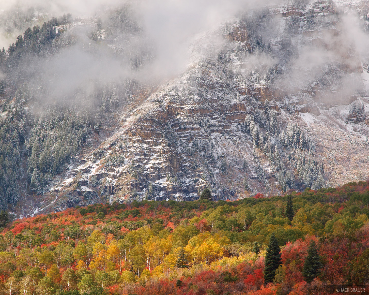 Mt. Timpanagos, Sundance, autumn, Utah, Wasatch, photo