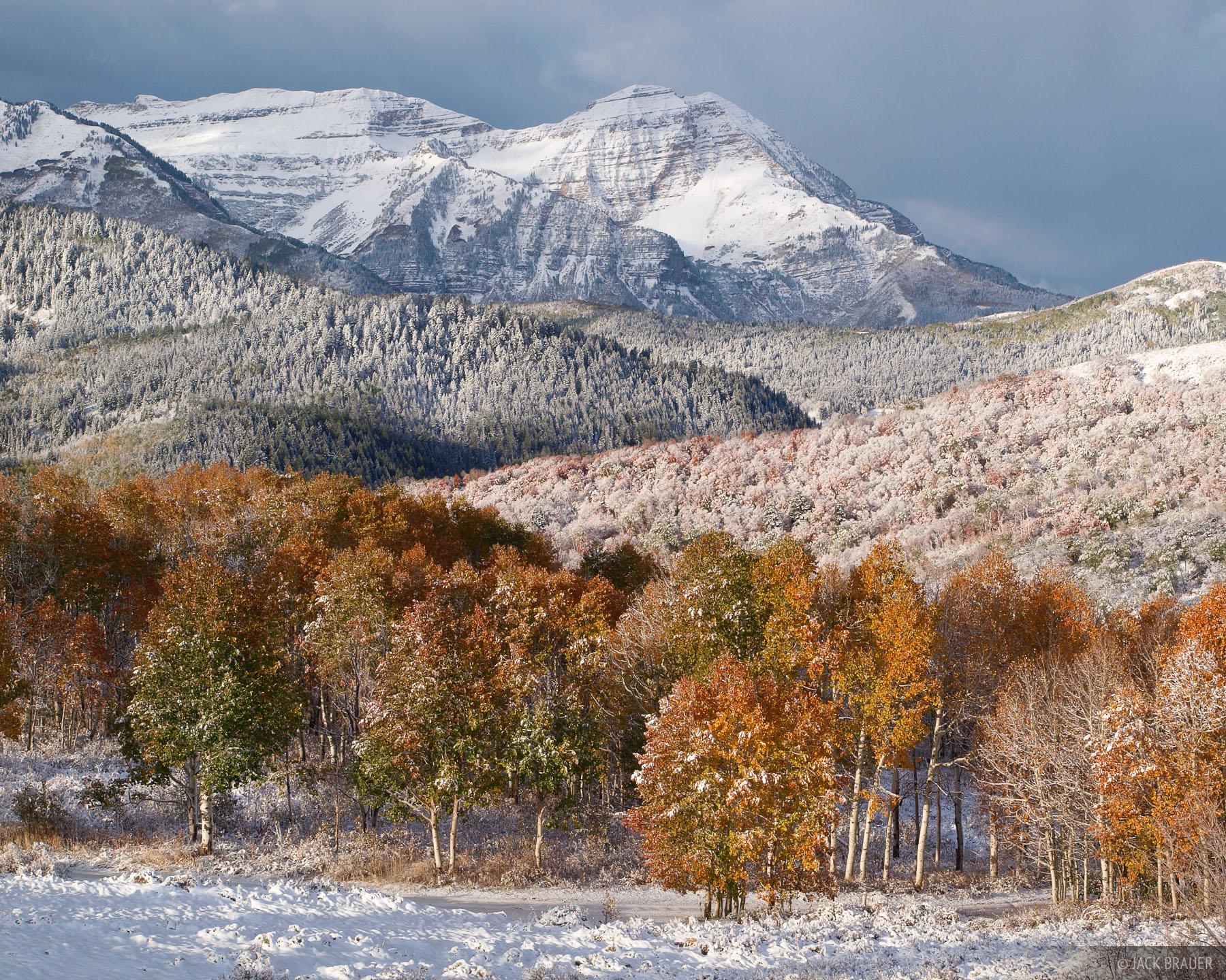 Timpanogos, North Peak, Wasatch, Utah, photo