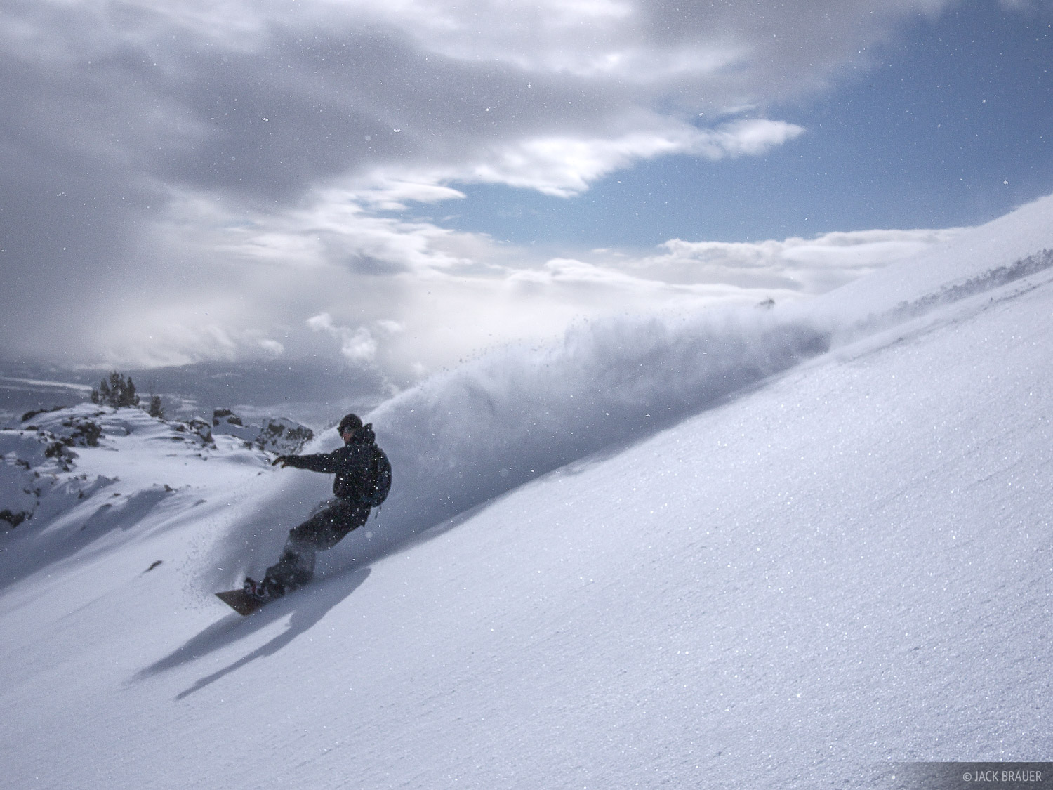 snowboarding, Jackson Hole, Wyoming, powder, photo