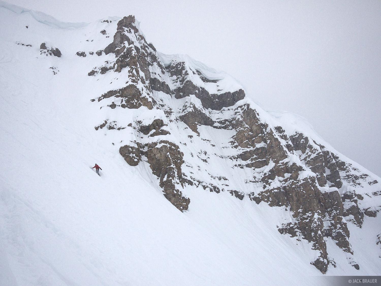 snowboarding, Jackson Hole, Wyoming, Cody Peak, photo