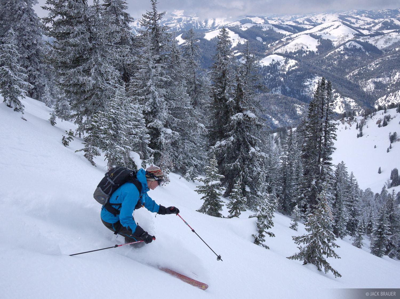 Taylor Mountain, Snake River Range, Jackson Hole, Wyoming, skiing, photo