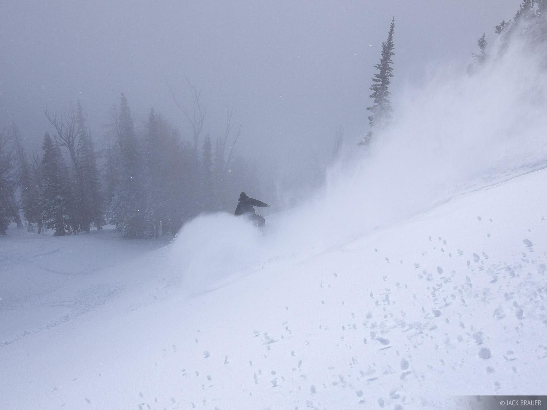 powder, snowboarding, Jackson Hole, Wyoming, photo