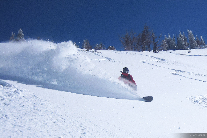 snowboarding, powder, Teton Pass, Jackson Hole, Wyoming, photo