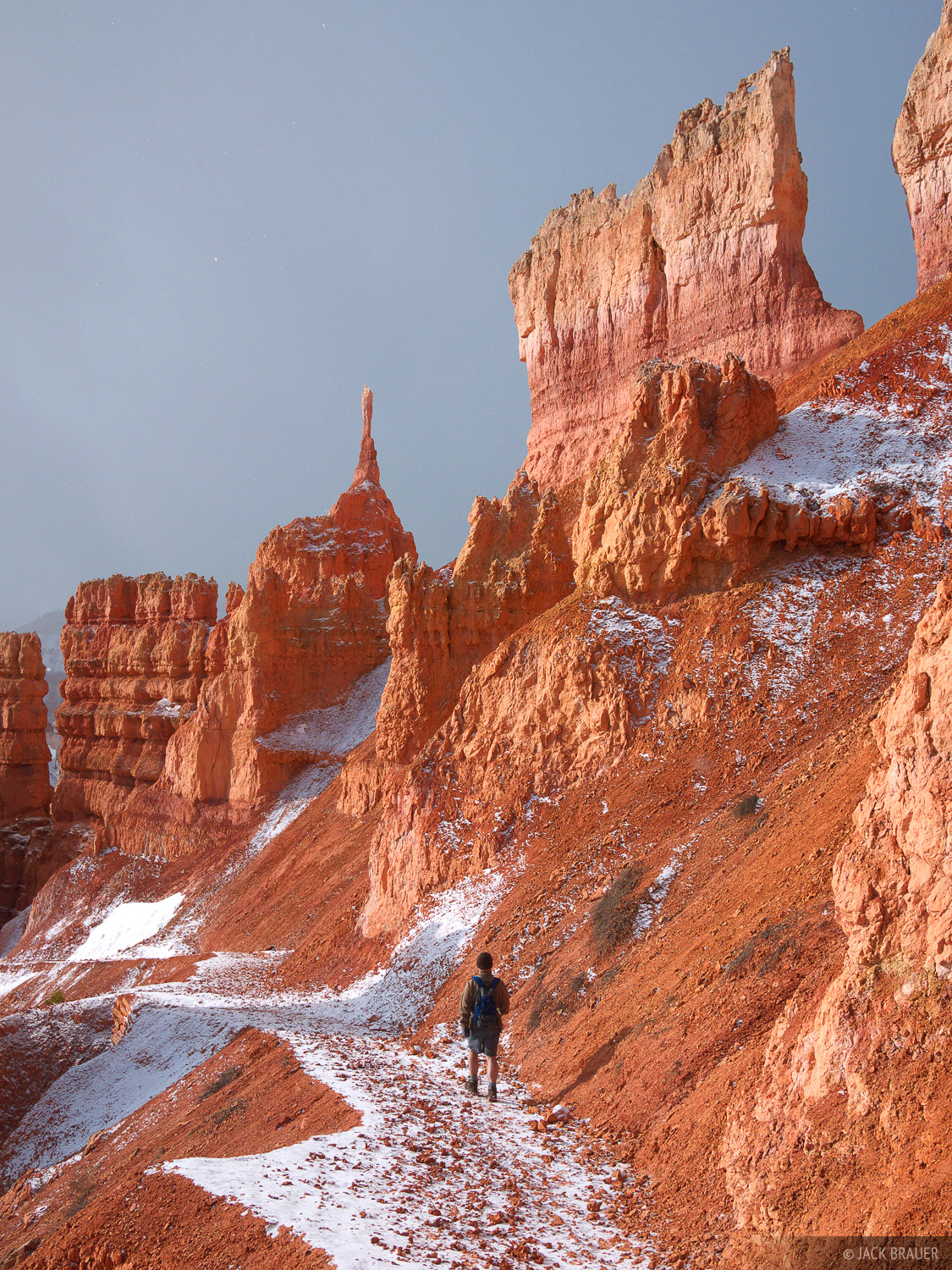 Bryce Canyon National Park, hiking, Navajo Loop Trail, Utah, photo