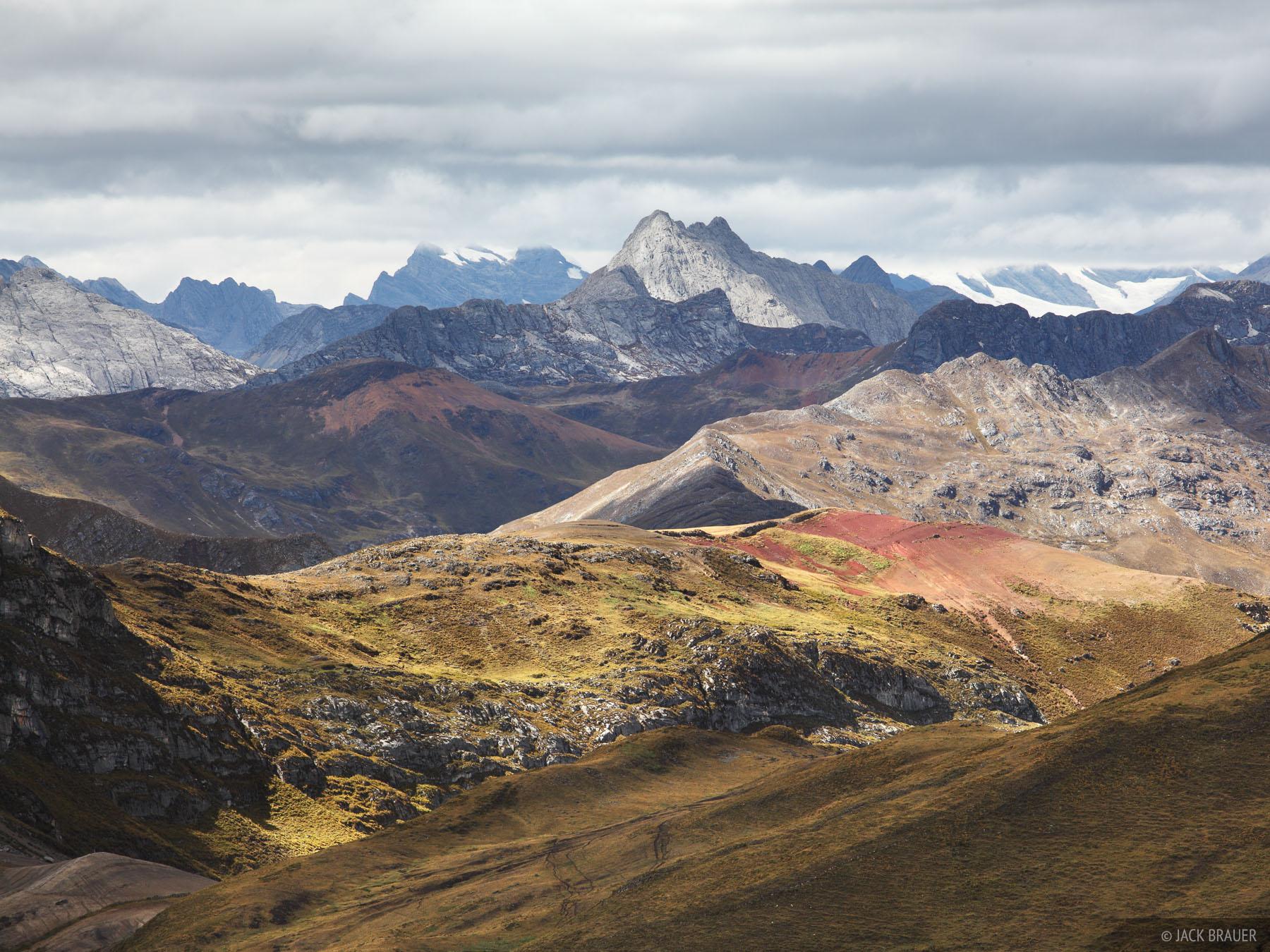Cordillera Huayhuash, Peru, ridges, photo