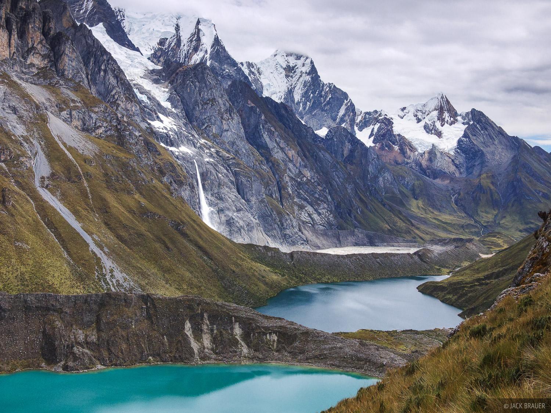 Laguna Quesillococha, Laguna Siula, Cordillera Huayhuash, Peru, photo
