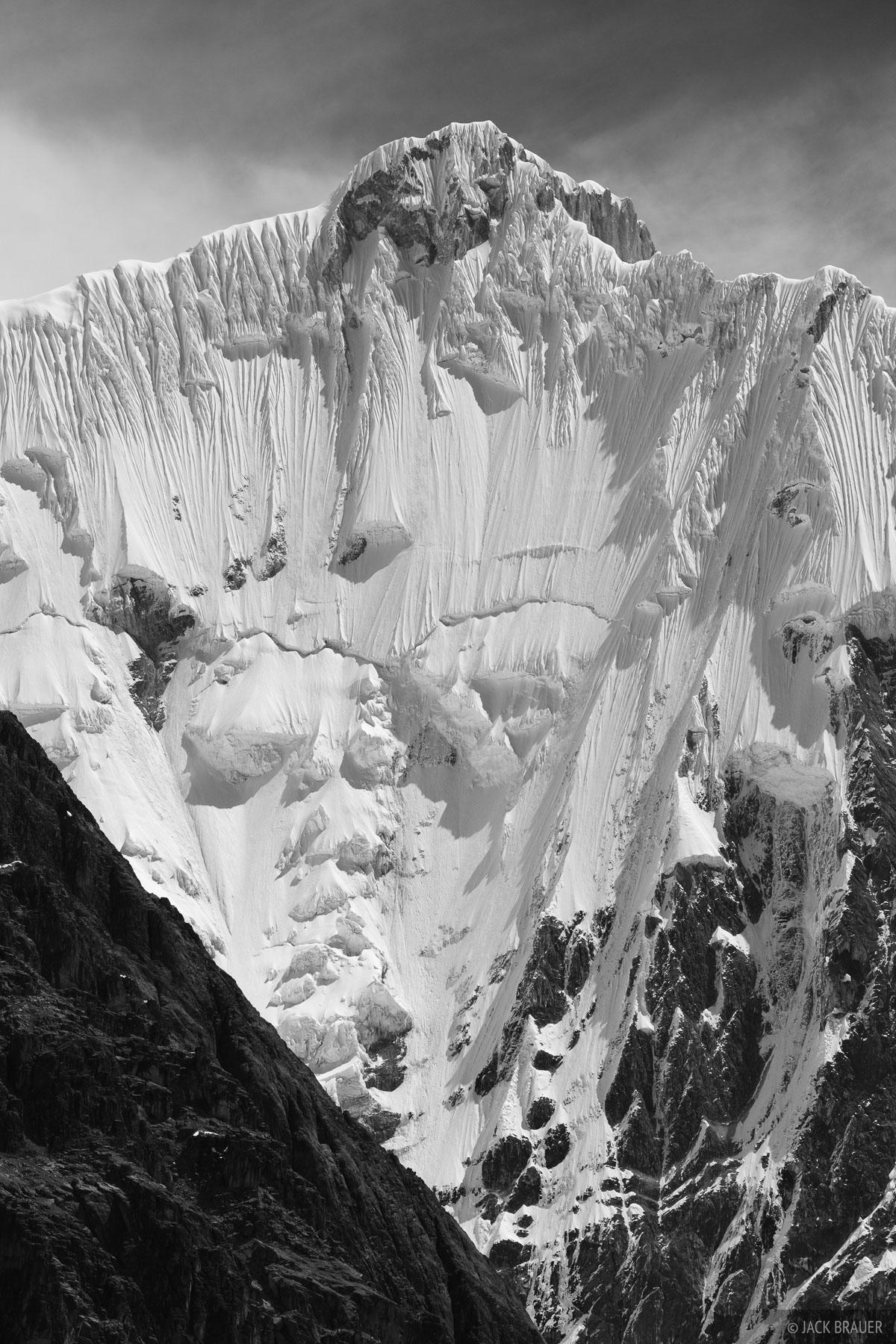 Yerupaja, Cordillera Huayhuash, Peru, southeast, photo