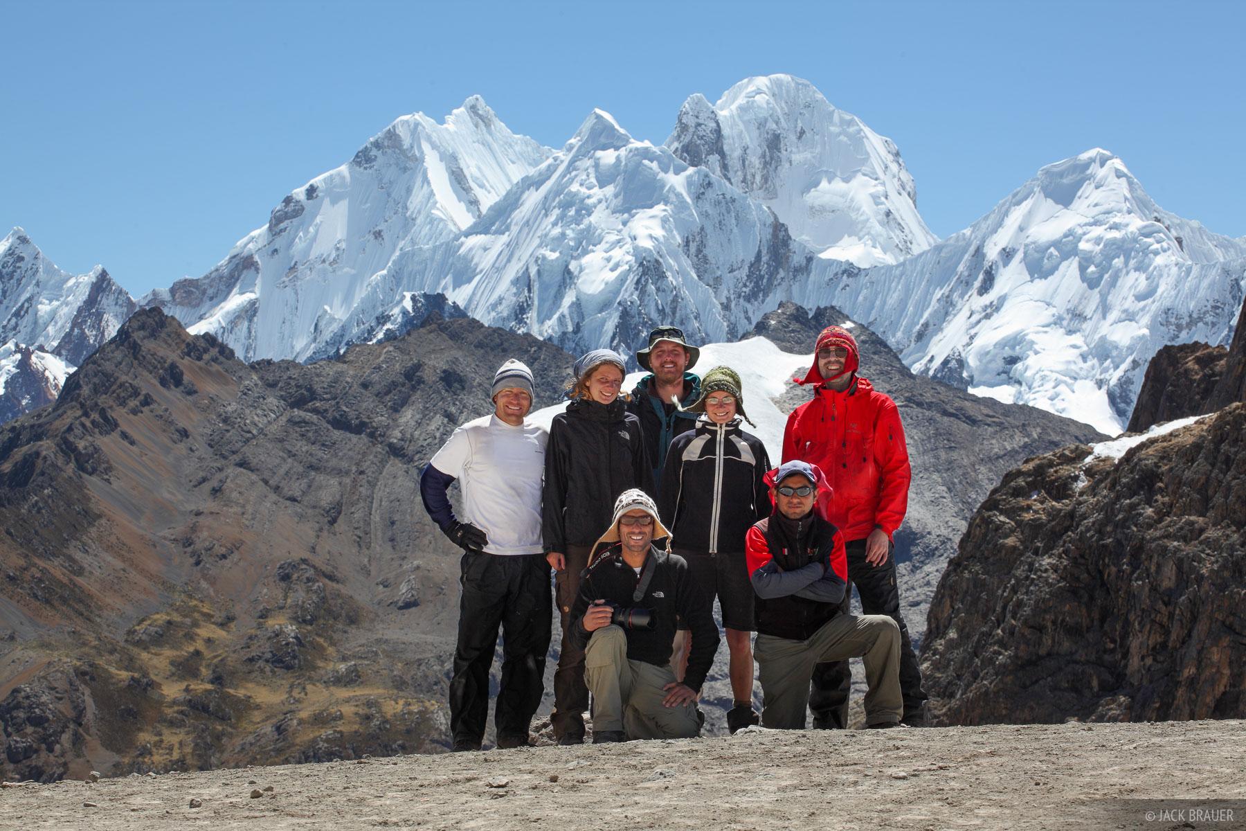 Cordillera Huayhuash, Peru, South America, Punta Cuyoc, photo