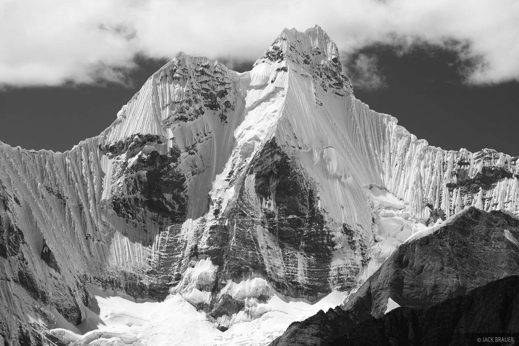 Cordillera Huayhuash, Peru, Jirishanca, photo