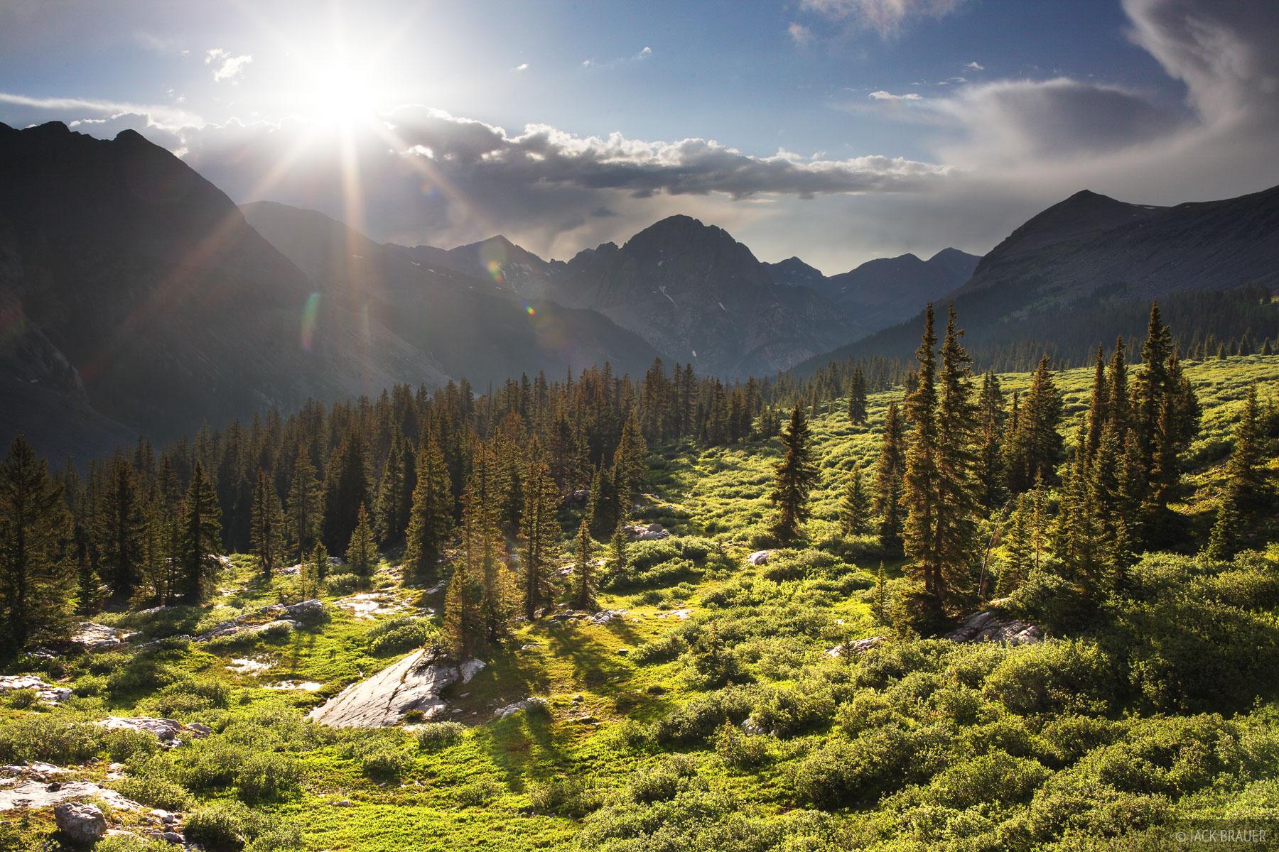 Rock Creek, San Juan Mountains, Colorado, Weminuche Wilderness, photo
