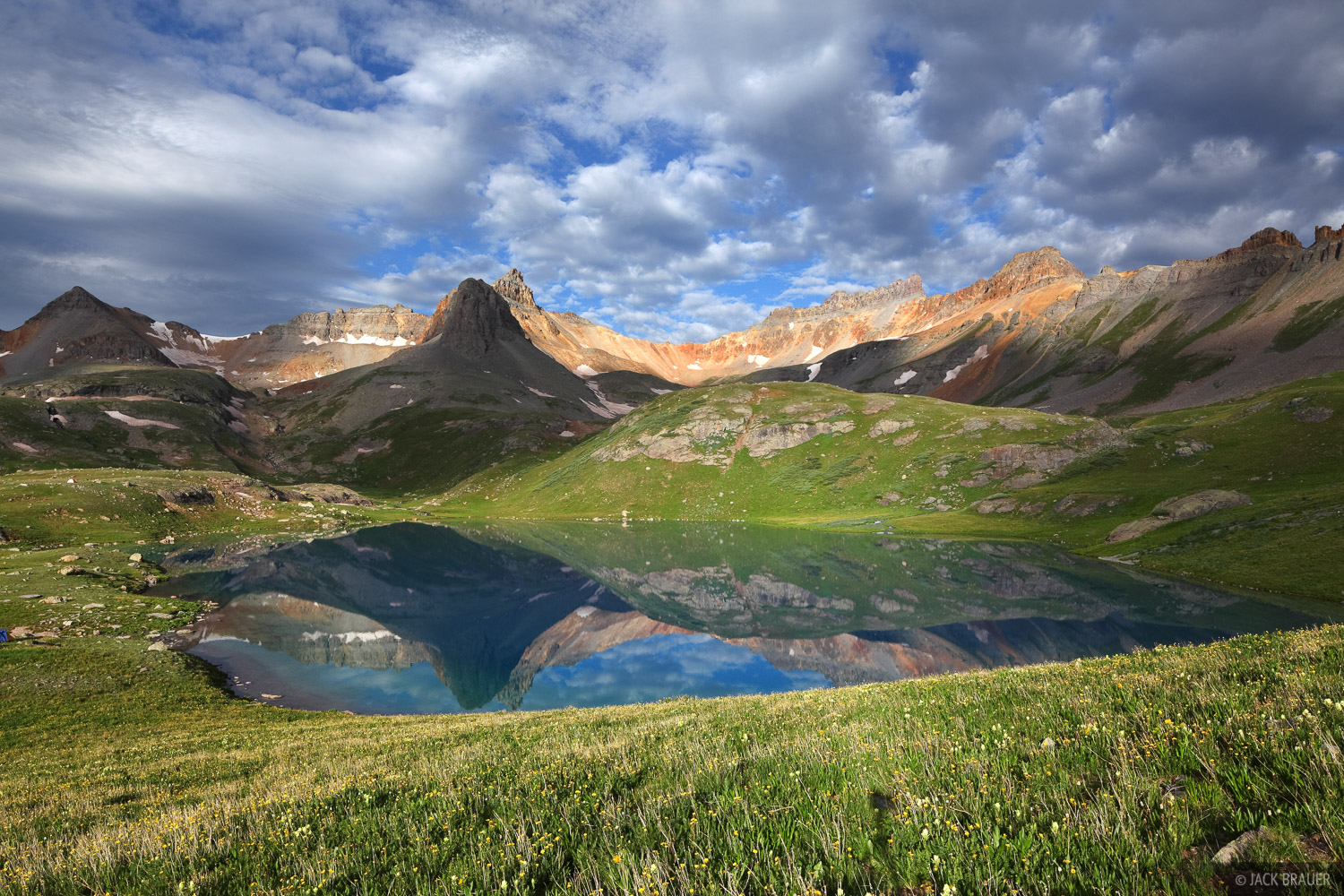 Ice Lakes, Colorado, San Juan Mountains, tundra, July, photo