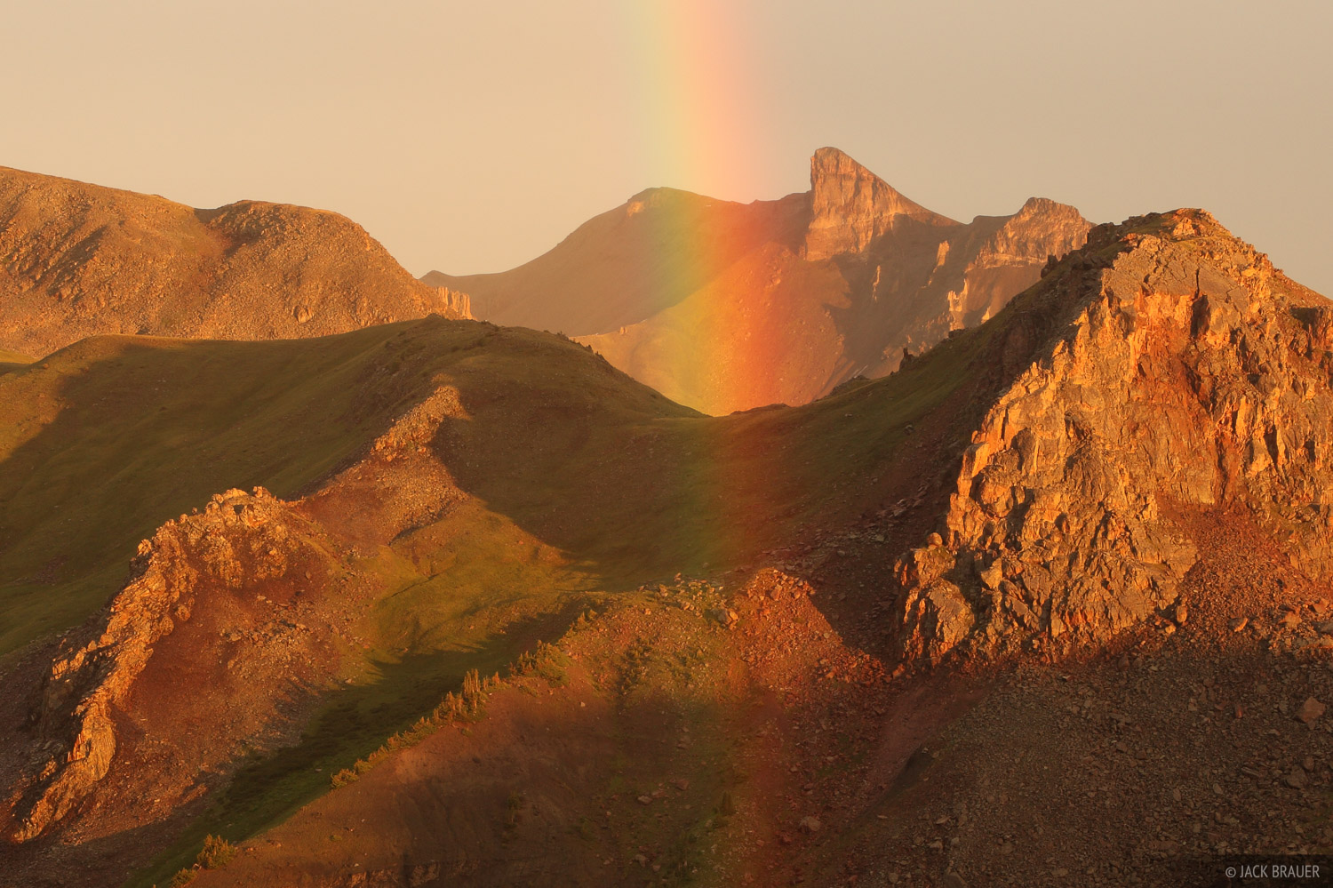 rainbow, Uncompahgre Wilderness, San Juan Mountains, Colorado, photo