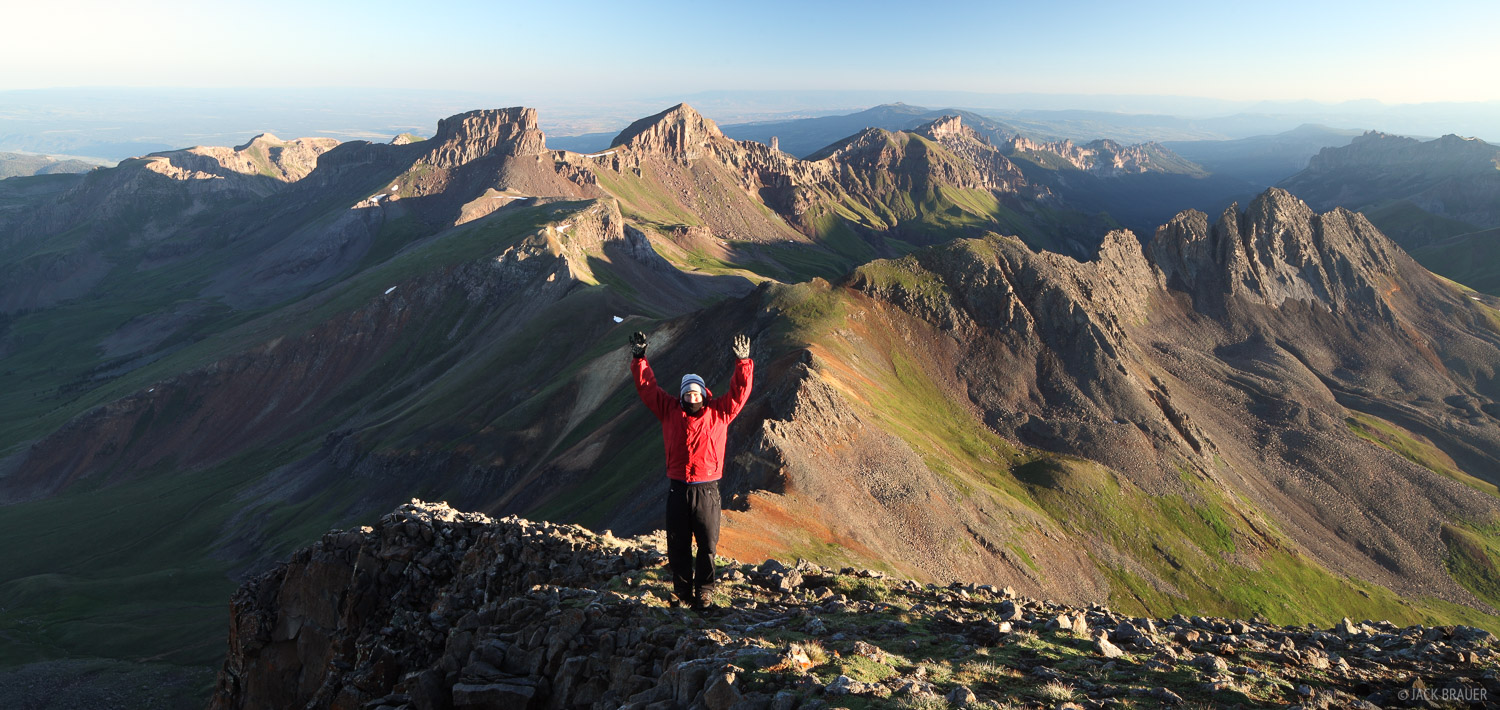 Colorado, Jack, San Juan Mountains, Uncompahgre Wilderness, Wetterhorn Peak, Cimarrons, 2010
