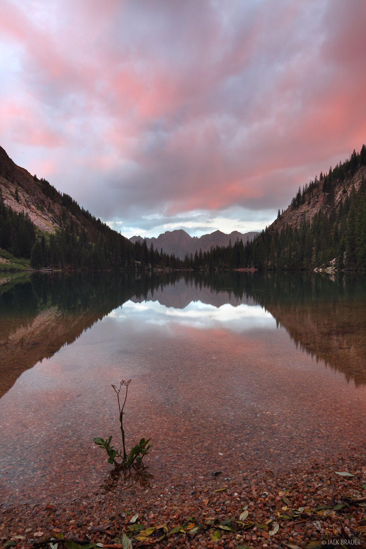 sunrise, West Needle Mountains, San Juan Mountains, Colorado, photo