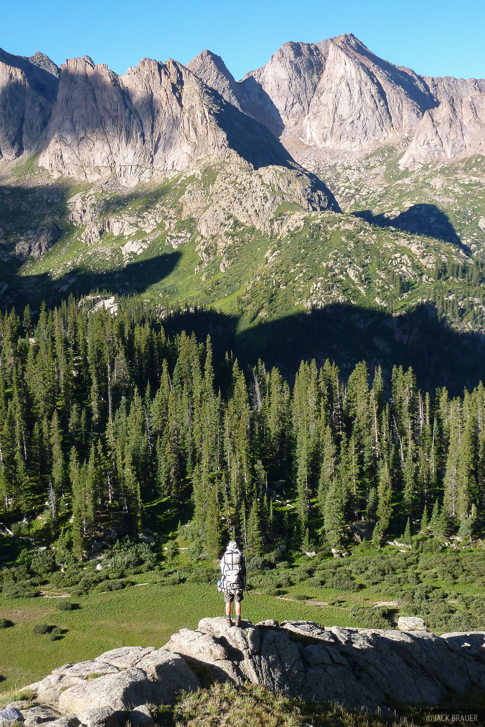 Colorado, Jack, Needle Mountains, San Juan Mountains, Weminuche Wilderness, Eolus, photo