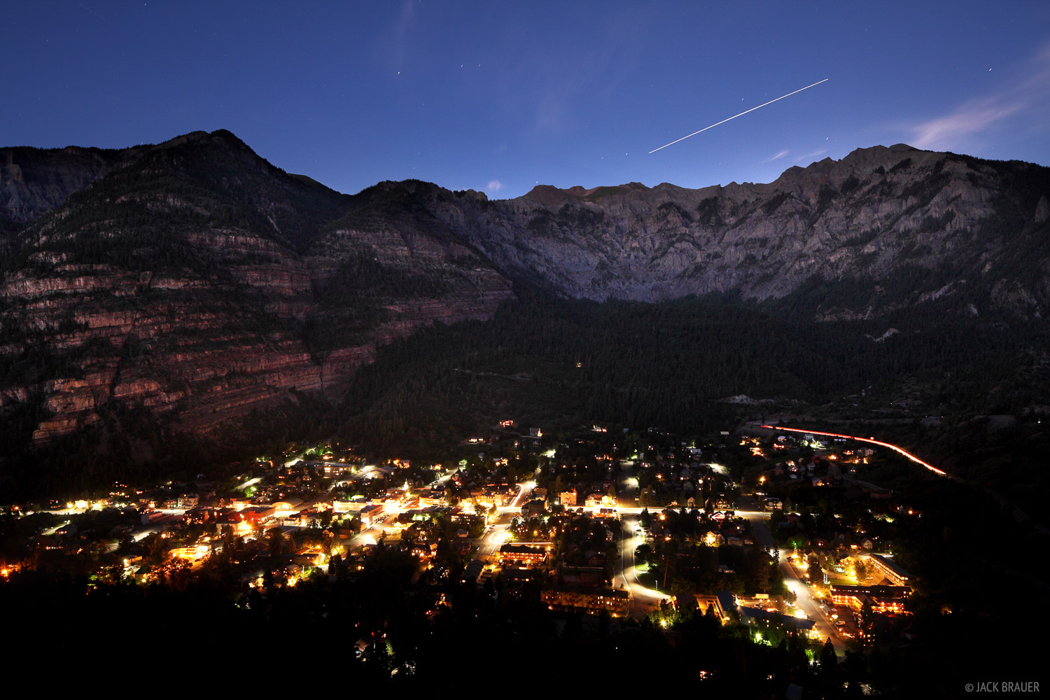 Ouray, Colorado, space station, photo