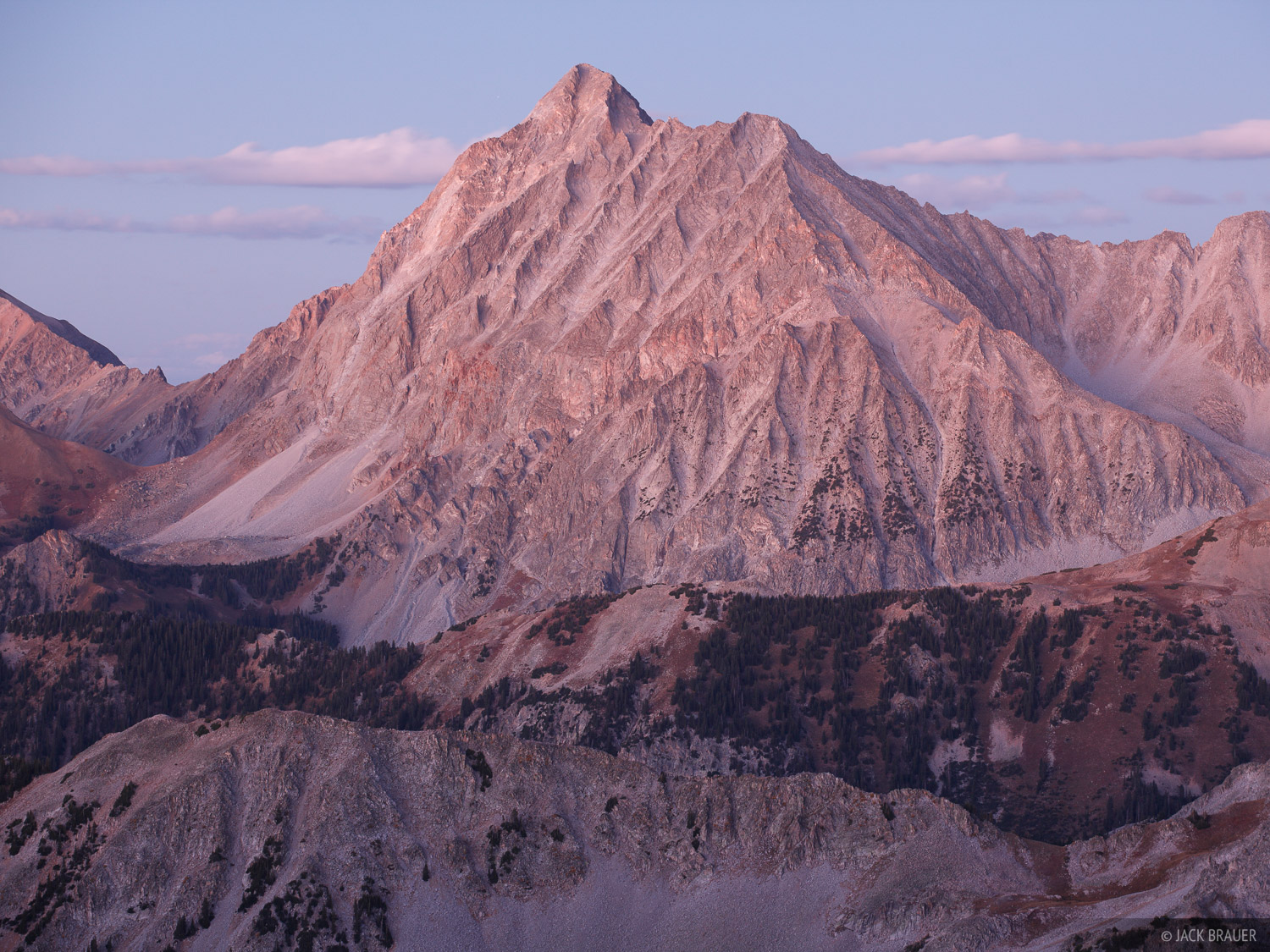 Capitol Peak, Colorado, Elk Mountains, 14er, Avalanche Pass, Maroon Bells-Snowmass Wilderness, photo