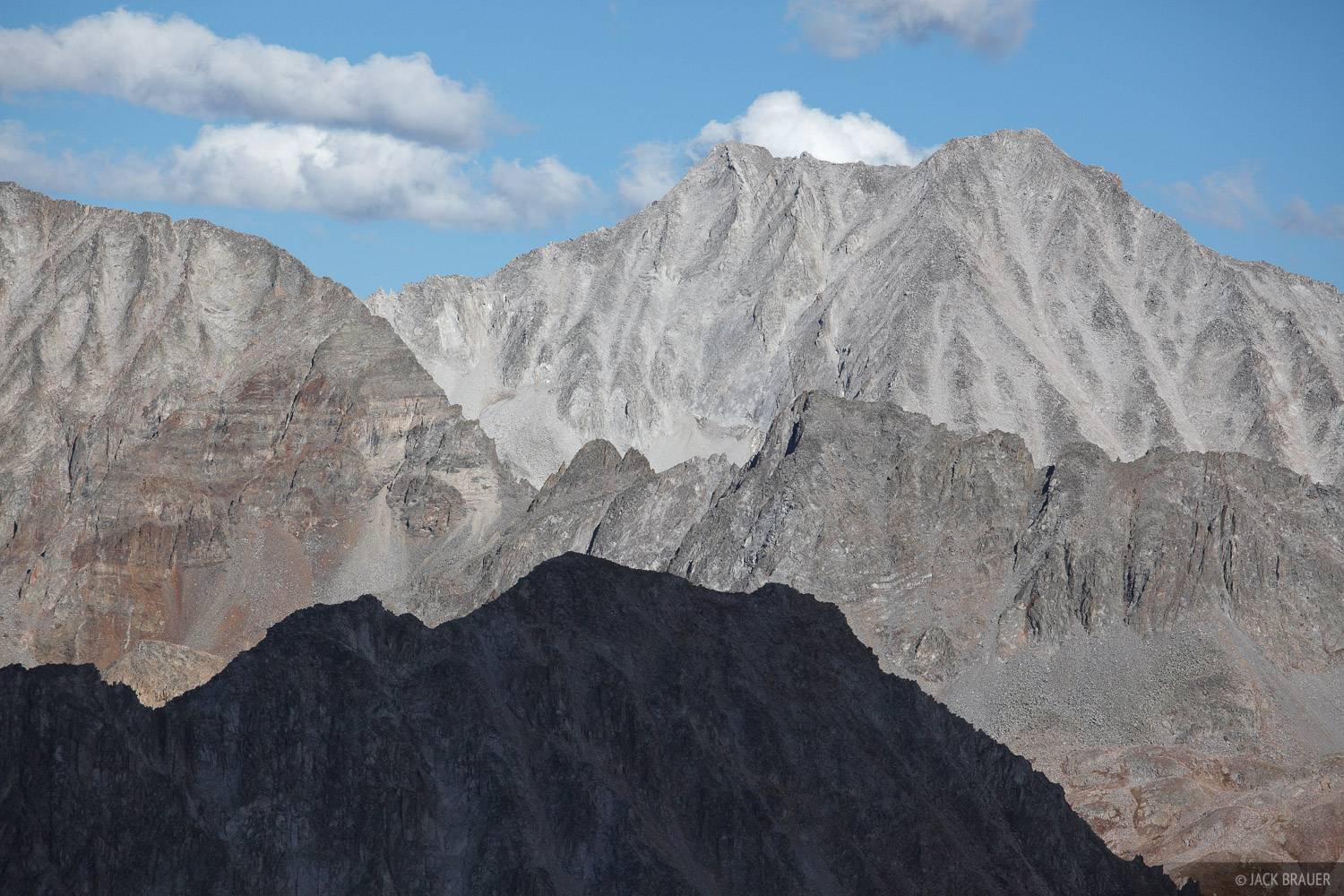 Colorado, Elk Mountains, Snowmass, Avalanche Pass, 14er, Maroon Bells-Snowmass Wilderness, photo