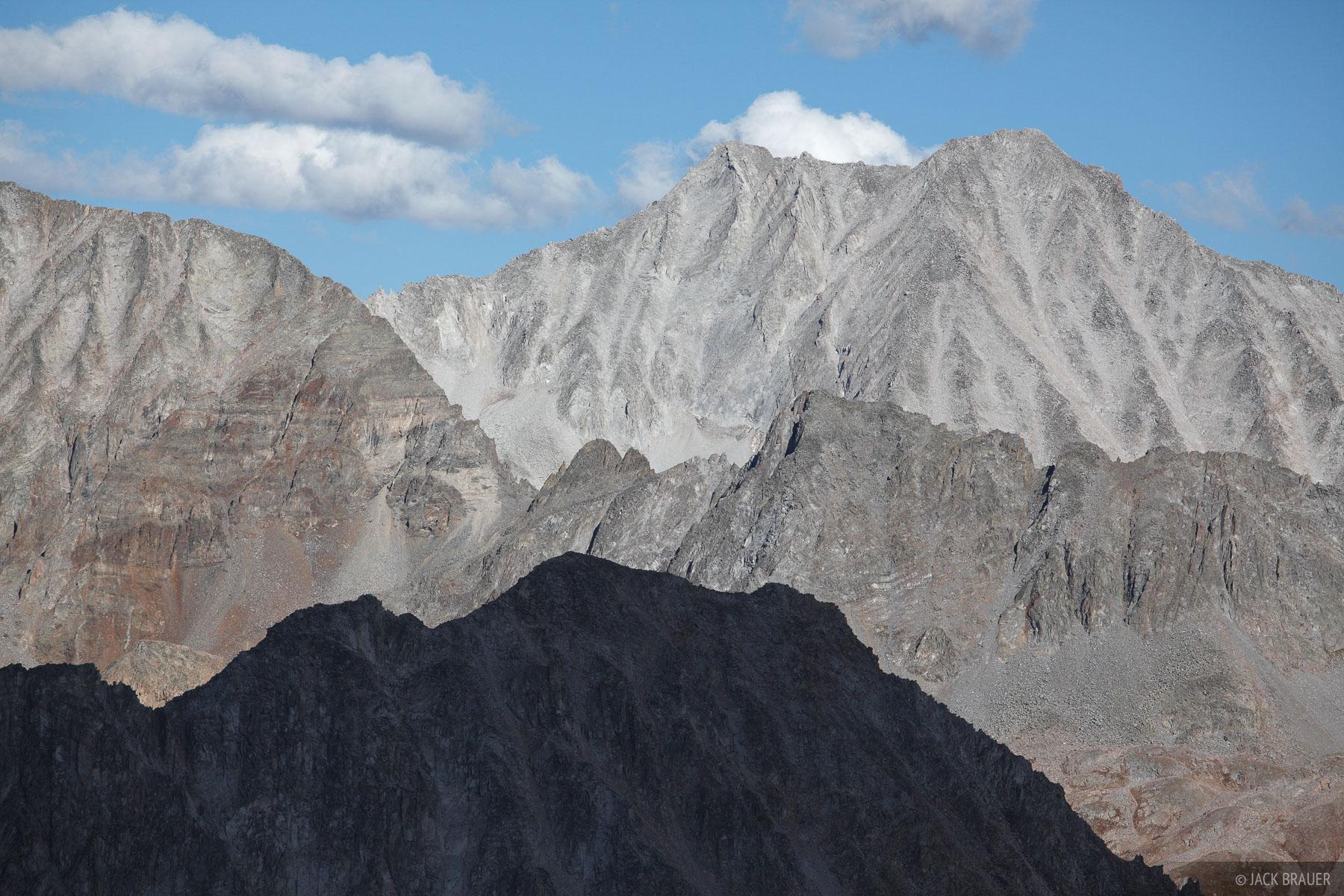 Colorado,Elk Mountains,Snowmass, Avalanche Pass, 14er, photo