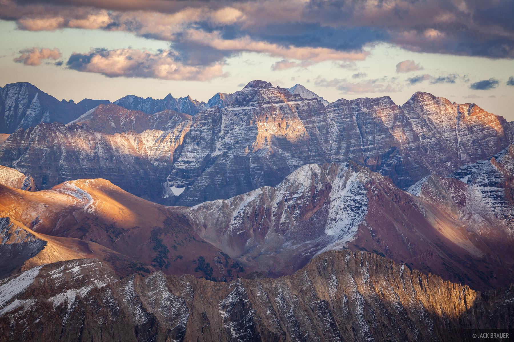 Colorado, Elk Mountains, Pyramid Peak, 14er, photo