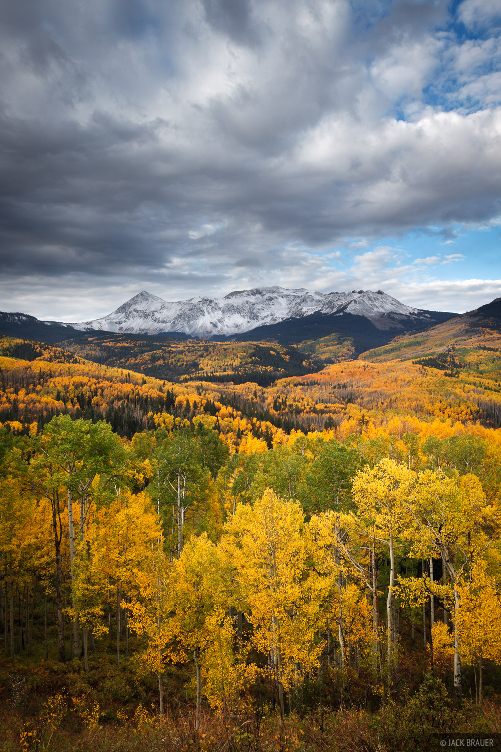 Colorado,San Juan Mountains,Woods Lake,aspens,autumn,fall, photo