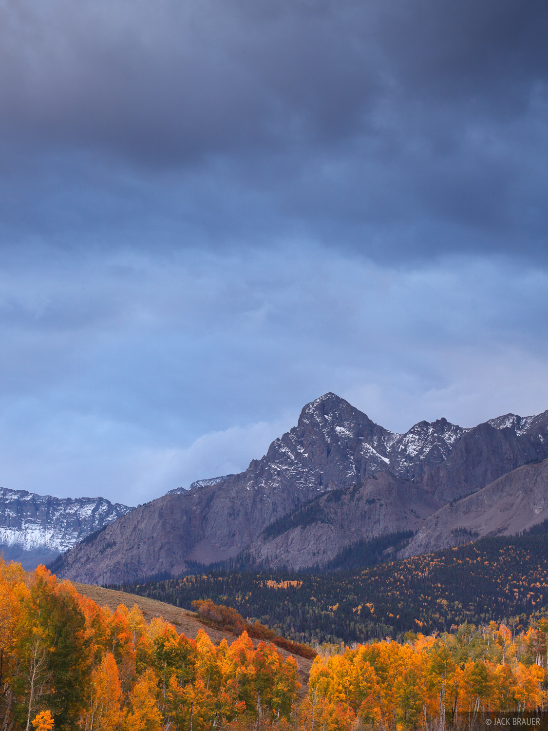 S9, Sneffels Range, San Juan Mountains, Colorado, autumn, photo