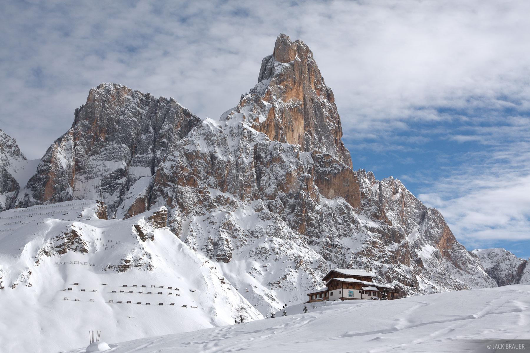 Cimon della Pala, Dolomites,Europe,Italy,San Martino, Passo Rolle, photo