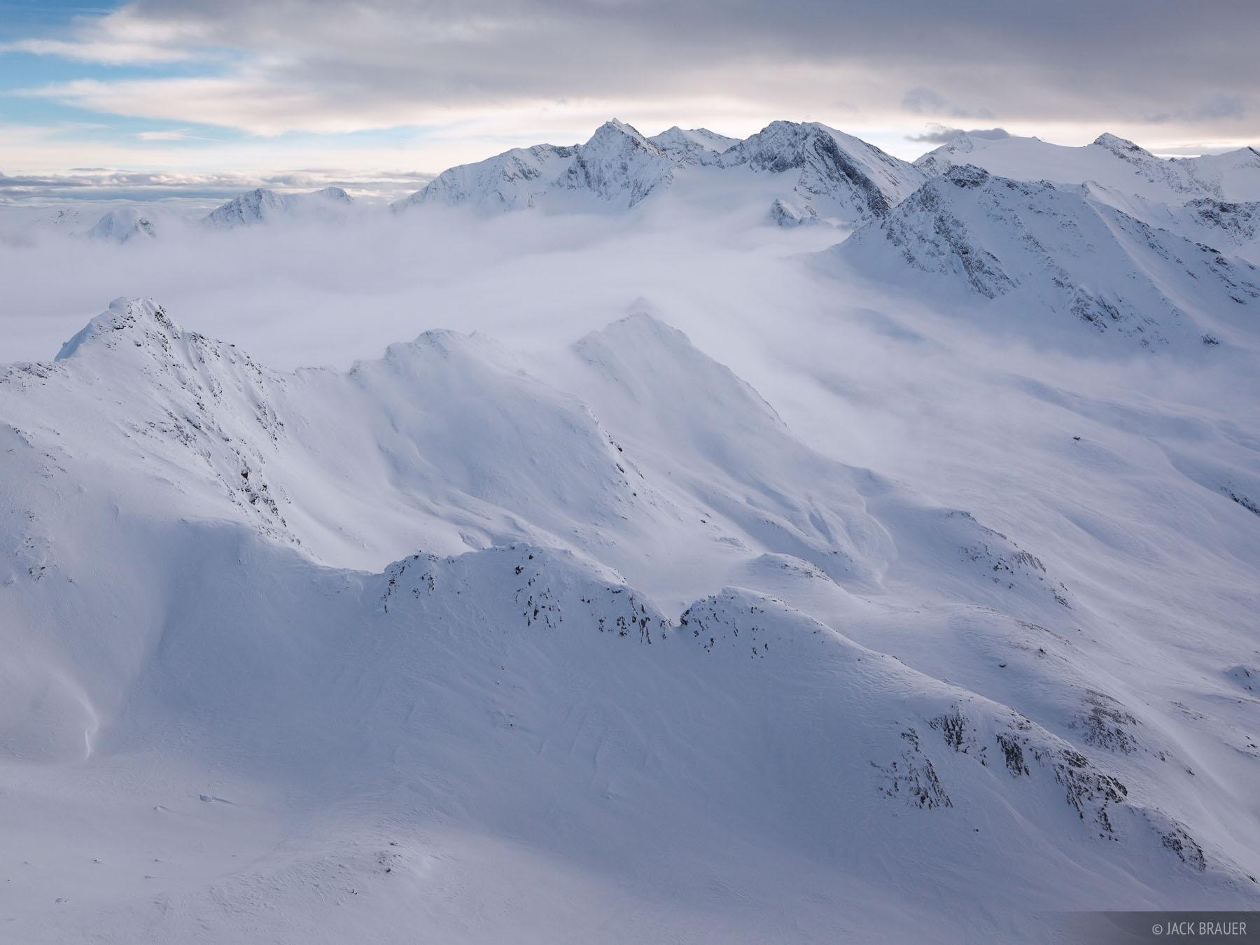 Obergurgl, Austria, snowy, clouds, December, , Ötztal Alps, photo