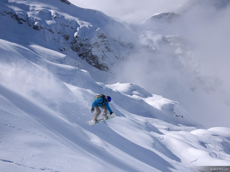 Steinberg, Glacier, Engelberg, Switzerland, snowboarding, photo