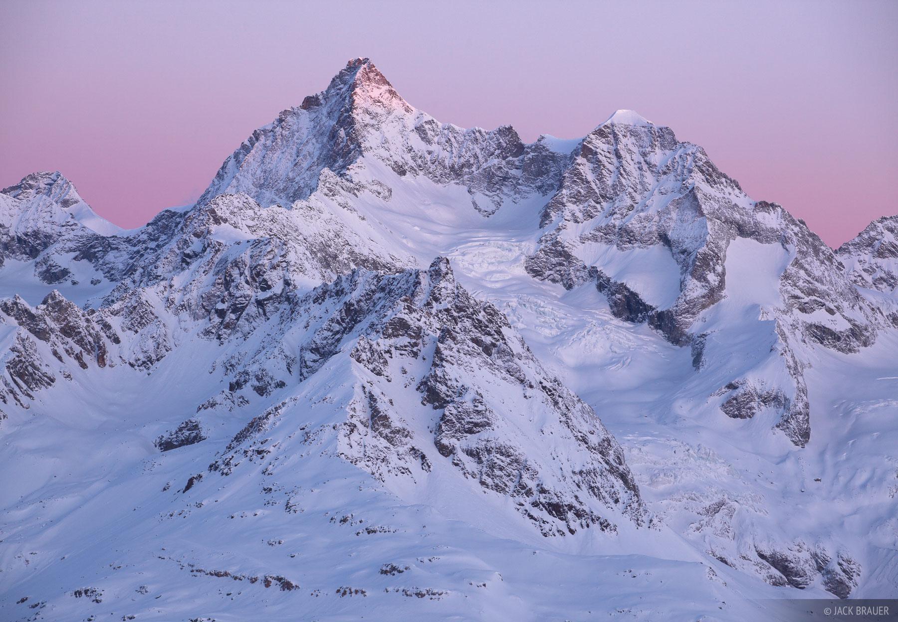 Gabelhorn, Zermatt, Switzerland, Ober Gabelhorn, Alps, photo
