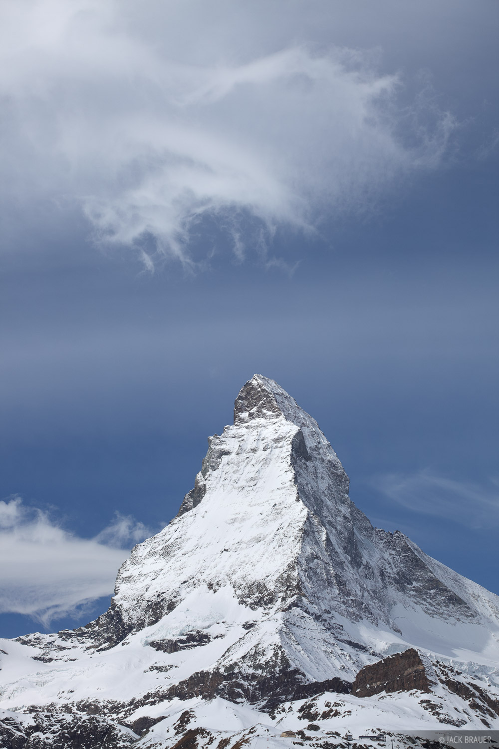 Matterhorn, cloud, Zermatt, Switzerland, Pennine, photo