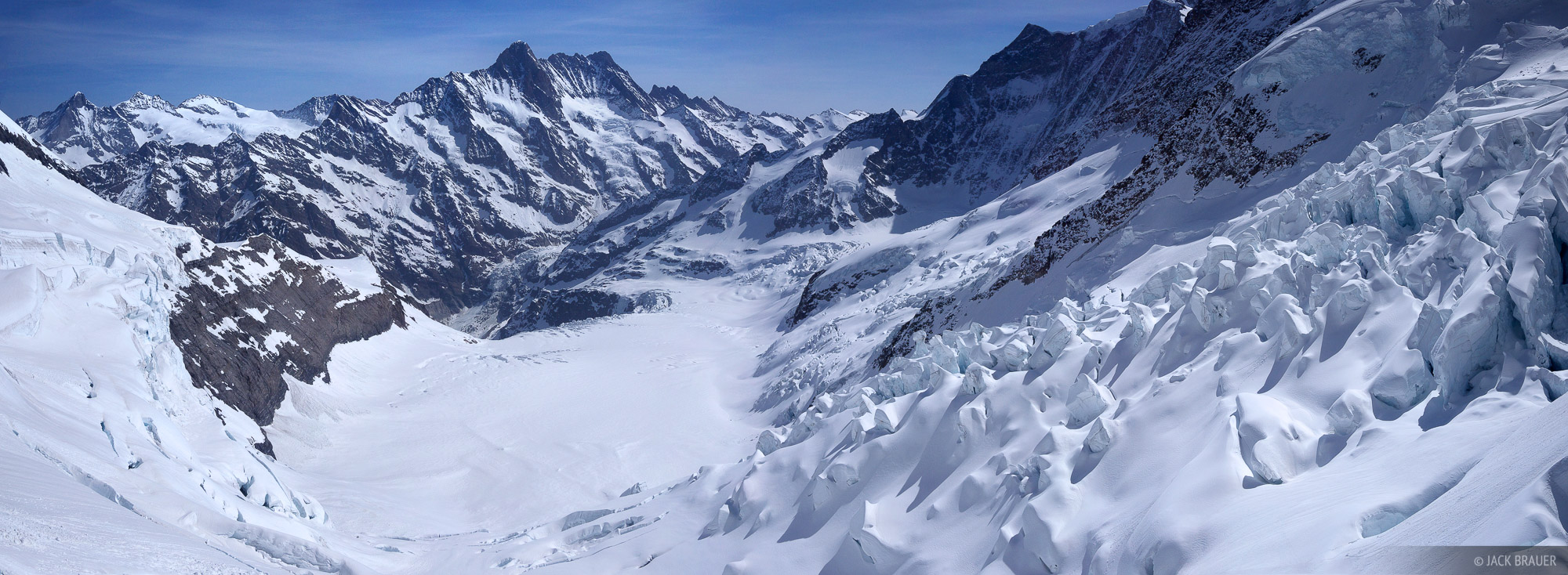 Jungfraujoch, panorama, Bernese Oberland, Switzerland, photo
