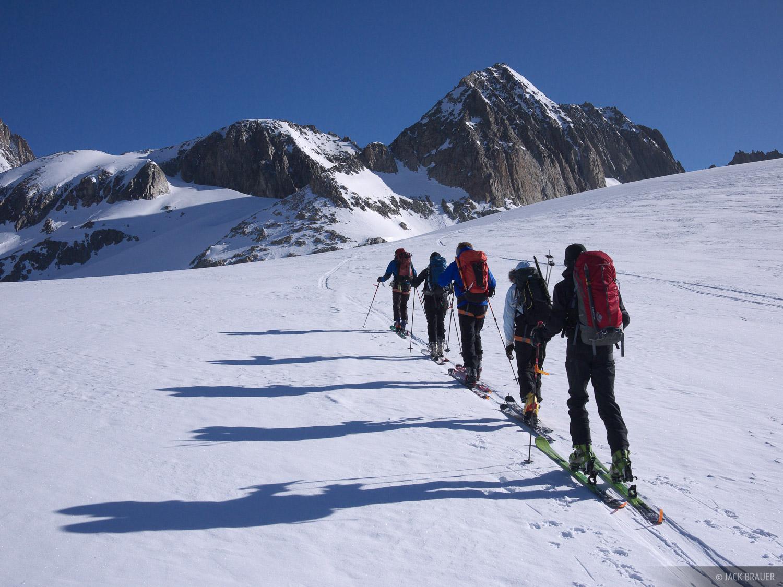 Galmihorn, skinning, Bernese Oberland, Switzerland, Alps, photo