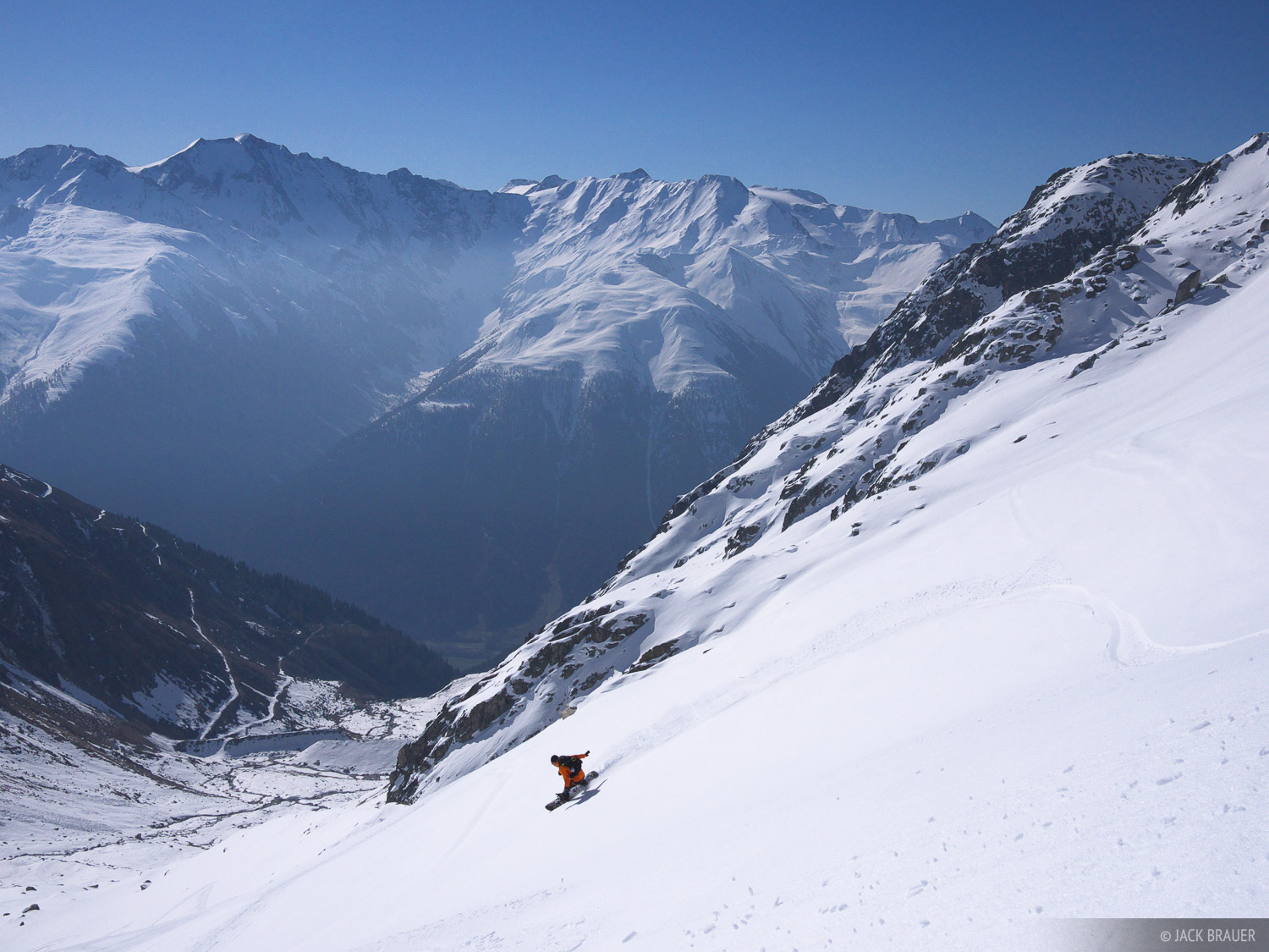 snowboarding, Bernese Oberland, Switzerland, photo
