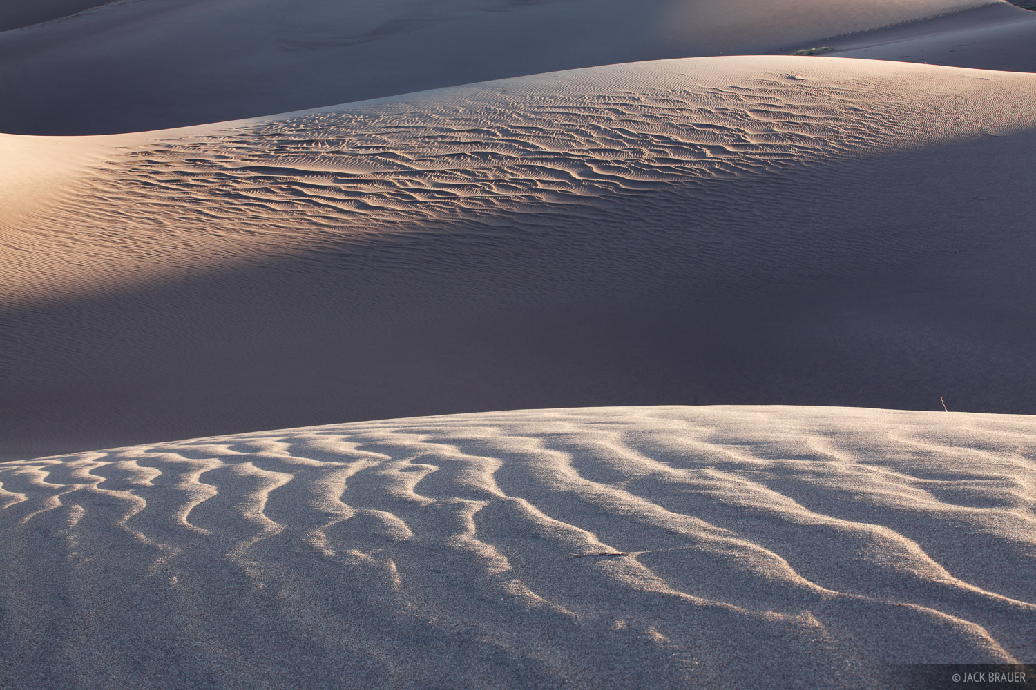 Great Sand Dunes, Colorado, ripples, photo