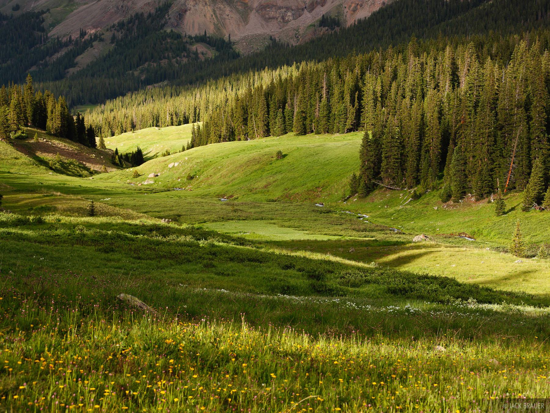Big Blue Creek, Uncompahgre Wilderness, Colorado, July, photo