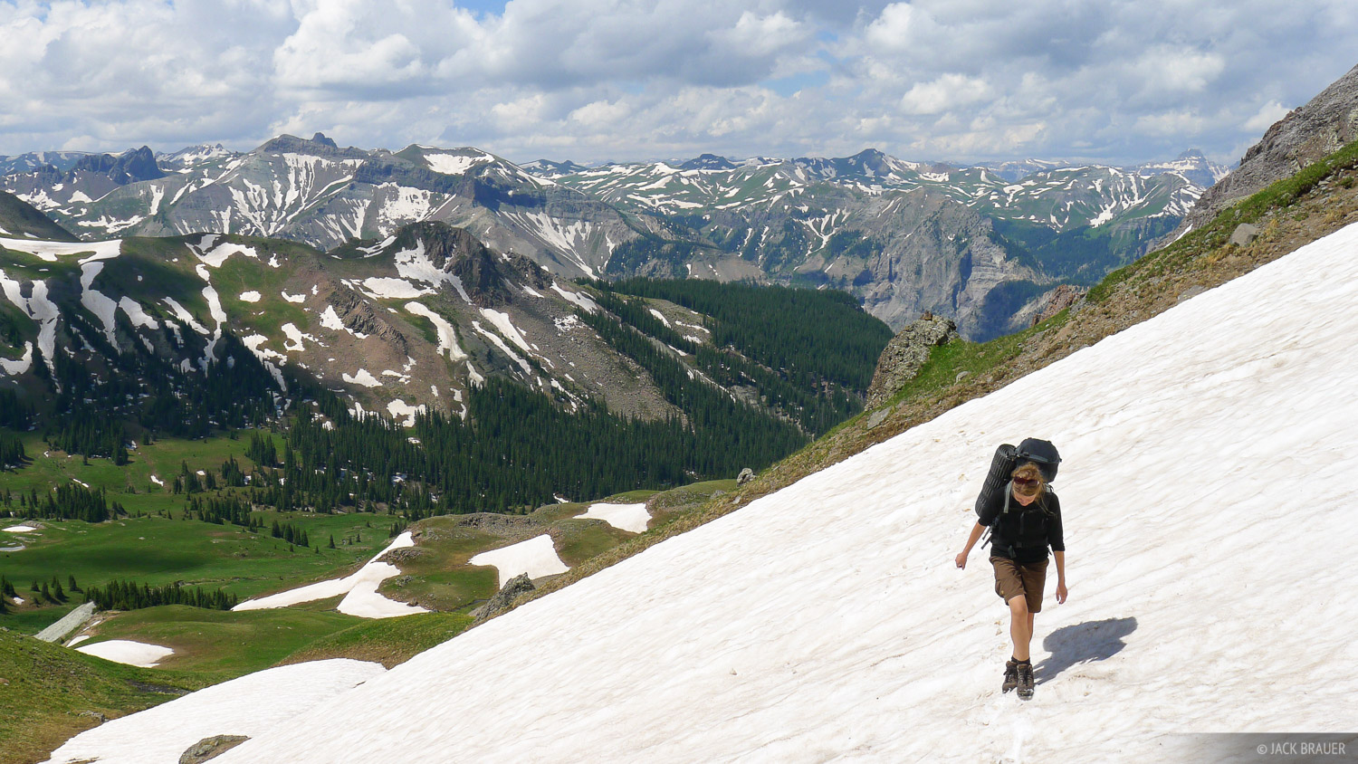 Coxcomb Pass, San Juan Mountains, Colorado, hiking, photo